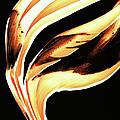 Firewater 2 - Buy Orange Fire Art Prints by Sharon Cummings