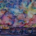 Firework Of Chinook by Anna  Duyunova