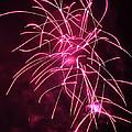 Rockets Red Glare Fireworks by Howard Tenke
