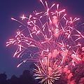 Fireworks 2014 X by Suzanne Gaff