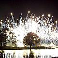 Fireworks At Epcot 2 by Tom Doud