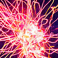 Fireworks At Night 6 by Jeelan Clark