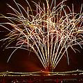Fireworks At Tempe Town Lake  by Saija  Lehtonen