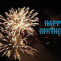 Fireworks Birthday by Aimee L Maher ALM GALLERY