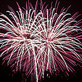 Fireworks Bursts Colors And Shapes 7 by SC Heffner