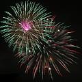 Fireworks Exploding by James DeFazio
