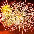Fireworks Flower by Robert Hebert