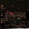 Fireworks From My Window 1 - Manhattan by Madeline Ellis