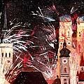 Fireworks In Munich by M Bleichner