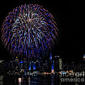 Fireworks In New York City by Susan Candelario