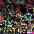 Fireworks Over Atlantic City by Nick Zelinsky