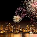 Fireworks Over Boston Harbor by Susan Cole Kelly