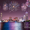 Fireworks Over Boston by Stacey Granger