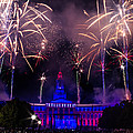 Fireworks Over Denver City And County Building by Teri Virbickis