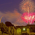 Fireworks Over St Louis by Garry McMichael