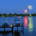 Fireworks Over Stony Creek by Brian Wallace