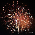 Fireworks Series Xv by Suzanne Gaff
