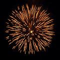 Fireworks Shell Burst by Jay Droggitis