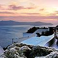 Santorini Sunset by Rod McLean