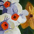 First Blooms by Nancy Merkle