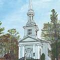 First Church Sandwich Ma by Cliff Wilson