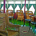 First Class Lounge In S S Klondike On Yukon River In Whitehorse-yt by Ruth Hager
