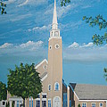 First Congregational Church by Norm Starks