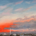 Obama Inaugural Sunrise 1 by William Van Doren