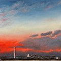 Obama Inaugural Sunrise 2 by William Van Doren