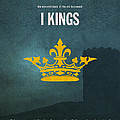First Kings Books Of The Bible Series Old Testament Minimal Poster Art Number 11 by Design Turnpike