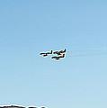 First  Korean  War  Era  F-86's  Flyby by Carl Deaville
