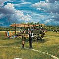 First Landing At Shepherd's Field by Randy Green