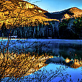 First Light At Pinnacle Lake by Optical Playground By MP Ray