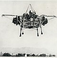 """First Official Picture Of Britain's """"flying Bedstead"""" by Retro Images Archive"""