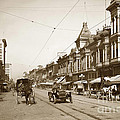 First Street Downtown San Jose California Circa 1905 by California Views Archives Mr Pat Hathaway Archives