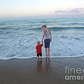 First Time At The Beach by Jennifer Lavigne