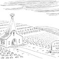 First Vegetarian Church.  A Pineapple Instead by Mick Stevens