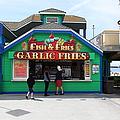 Fish And Fries At The Santa Cruz Beach Boardwalk California 5d23687 by Wingsdomain Art and Photography