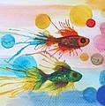 Fish Finale by Angelique Bowman