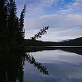 Fish Lake At Nordegg 05 by Philip Rispin