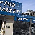 Fish Market In Hobart by Jason O Watson