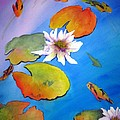 Fish Pond I by Lil Taylor