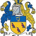 Fisher Coat Of Arms Irish by Heraldry