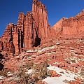 Fisher Towers Amphitheater by Adam Jewell
