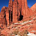 Fisher Towers Portrait by Adam Jewell