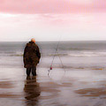 Fisherman By The Sea by Hal Halli