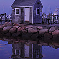 Fisherman's Shack Evening by Phyllis Tarlow