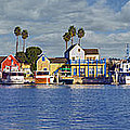 Fisherman's Village Marina Del Rey Ca by David Zanzinger