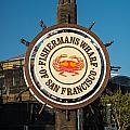 Fisherman's Wharf Sign by Steve Gadomski