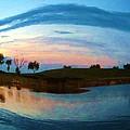 Fisheye Sunset by Deborah Lacoste